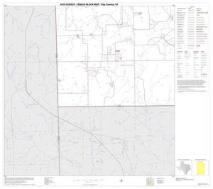 Primary view of object titled '2010 Census County Block Map: Clay County, Block 24'.