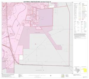 Primary view of object titled '2010 Census County Block Map: Tom Green County, Inset E04'.