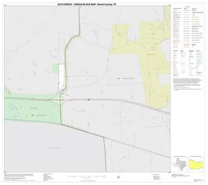 Primary view of object titled '2010 Census County Block Map: Bowie County, Inset H01'.