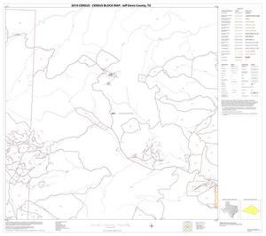 Primary view of object titled '2010 Census County Block Map: Jeff Davis County, Block 20'.