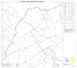Primary view of object titled '2010 Census County Block Map: Robertson County, Block 9'.