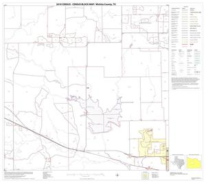 Primary view of object titled '2010 Census County Block Map: Wichita County, Block 6'.