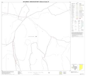 Primary view of object titled '2010 Census County Block Map: Culberson County, Block 33'.