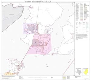 Primary view of object titled '2010 Census County Block Map: Aransas County, Block 5'.