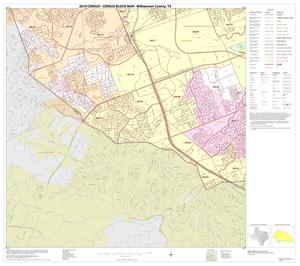 Primary view of object titled '2010 Census County Block Map: Williamson County, Block 40'.