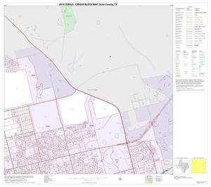 Primary view of object titled '2010 Census County Block Map: Ector County, Inset B02'.