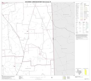 Primary view of object titled '2010 Census County Block Map: Morris County, Block 6'.