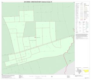 Primary view of object titled '2010 Census County Block Map: Henderson County, Inset G01'.