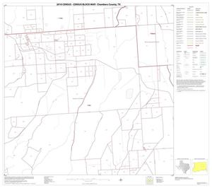 Primary view of object titled '2010 Census County Block Map: Chambers County, Block 9'.