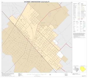 Primary view of object titled '2010 Census County Block Map: Lavaca County, Inset D01'.