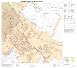 Primary view of object titled '2010 Census County Block Map: Brazos County, Block 12'.