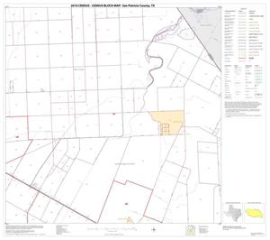 Primary view of object titled '2010 Census County Block Map: San Patricio County, Block 10'.