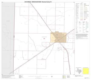 Primary view of object titled '2010 Census County Block Map: Sherman County, Block 5'.
