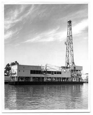 Primary view of object titled '[Photograph of Rig No. 4]'.