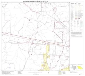 Primary view of object titled '2010 Census County Block Map: Angelina County, Block 6'.