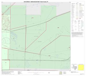 Primary view of object titled '2010 Census County Block Map: Potter County, Inset A04'.