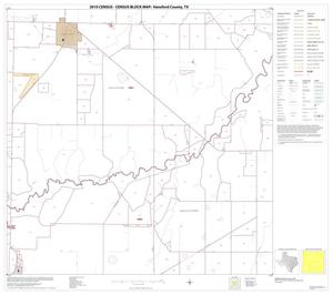 Primary view of object titled '2010 Census County Block Map: Hansford County, Block 8'.