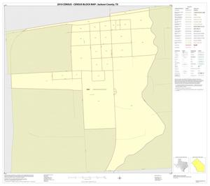 Primary view of object titled '2010 Census County Block Map: Jackson County, Inset D01'.