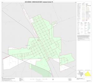 Primary view of object titled '2010 Census County Block Map: Lampasas County, Inset A01'.