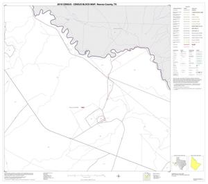 Primary view of object titled '2010 Census County Block Map: Reeves County, Block 8'.