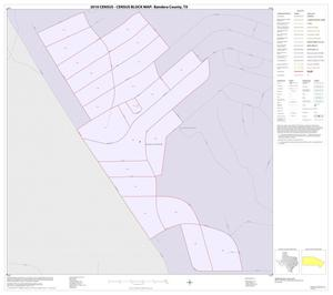 Primary view of object titled '2010 Census County Block Map: Bandera County, Inset C01'.