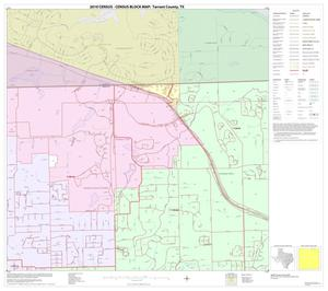 Primary view of object titled '2010 Census County Block Map: Tarrant County, Block 6'.