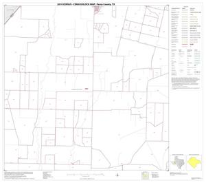 Primary view of object titled '2010 Census County Block Map: Pecos County, Block 7'.