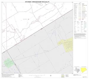 Primary view of object titled '2010 Census County Block Map: Ellis County, Block 35'.
