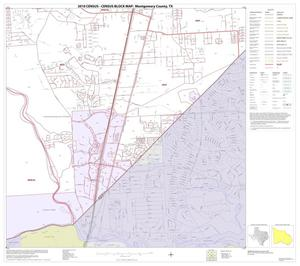 Primary view of object titled '2010 Census County Block Map: Montgomery County, Block 48'.
