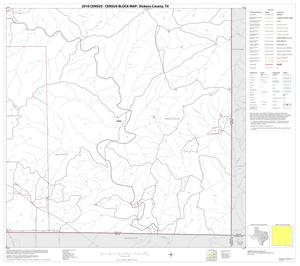Primary view of object titled '2010 Census County Block Map: Dickens County, Block 9'.