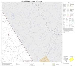 Primary view of object titled '2010 Census County Block Map: Falls County, Block 7'.