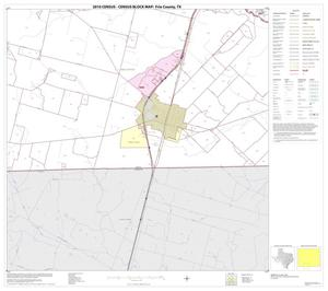 Primary view of object titled '2010 Census County Block Map: Frio County, Block 14'.