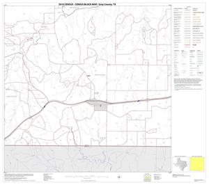 Primary view of object titled '2010 Census County Block Map: Gray County, Block 15'.