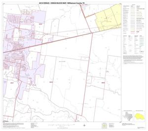 Primary view of object titled '2010 Census County Block Map: Williamson County, Block 36'.