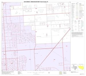 Primary view of object titled '2010 Census County Block Map: Harris County, Block 137'.