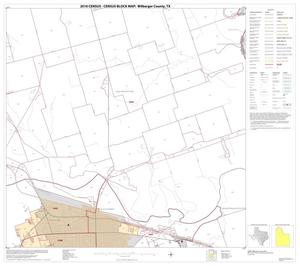Primary view of object titled '2010 Census County Block Map: Wilbarger County, Block 6'.