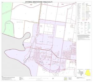 Primary view of object titled '2010 Census County Block Map: Hidalgo County, Block 105'.
