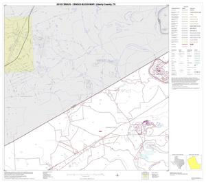 Primary view of object titled '2010 Census County Block Map: Liberty County, Block 2'.