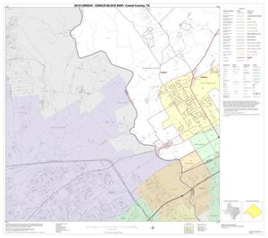 Primary view of object titled '2010 Census County Block Map: Comal County, Block 12'.