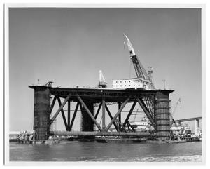 "Primary view of object titled '[Drilling platform ""Sedco K""]'."