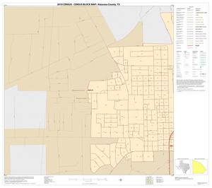 Primary view of object titled '2010 Census County Block Map: Atascosa County, Inset E02'.