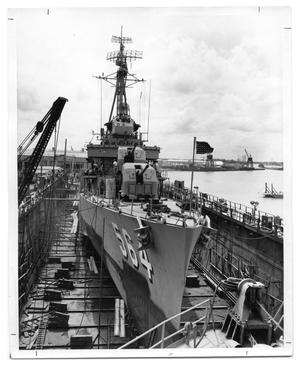 Primary view of object titled '[USN Destroyer]'.