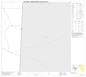 Primary view of object titled '2010 Census County Block Map: El Paso County, Block 72'.