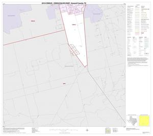 Primary view of object titled '2010 Census County Block Map: Howard County, Inset A03'.