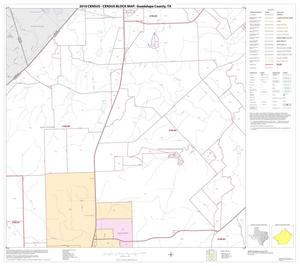 Primary view of object titled '2010 Census County Block Map: Guadalupe County, Block 4'.