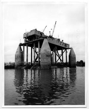Primary view of object titled '[Mobile Drilling Platform - Rig No. 50]'.