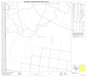 Primary view of object titled '2010 Census County Block Map: Baylor County, Block 5'.