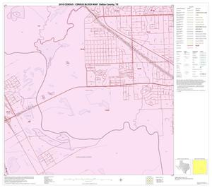 Primary view of object titled '2010 Census County Block Map: Dallas County, Block 51'.