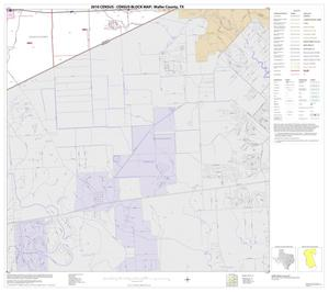 Primary view of object titled '2010 Census County Block Map: Waller County, Block 14'.