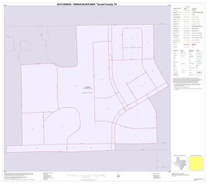 Primary view of object titled '2010 Census County Block Map: Tarrant County, Inset W01'.